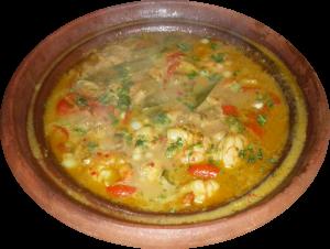 Fischcurry Tajine